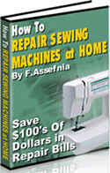 How to repair sewing machine e-book